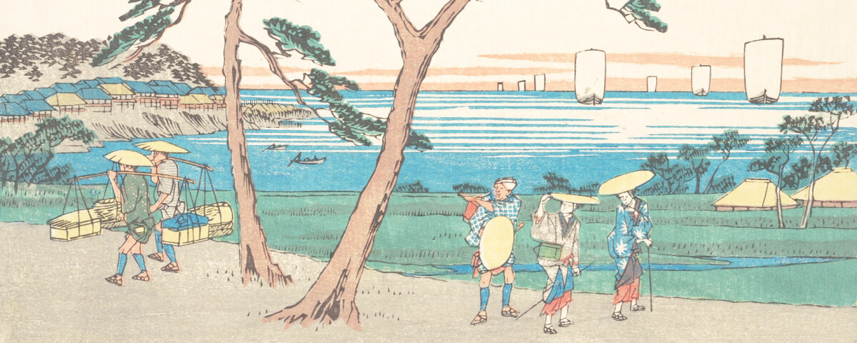 江戸時代・神奈川宿